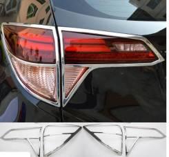 Хром накладка на задние стопы Honda Vezel 2013-2017гг