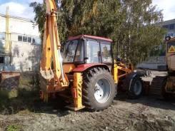 Услуги трактора экскаватора Амкодор