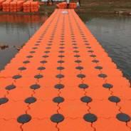 Пластиковые понтоны, модульный причал пирс 1 кв. метр