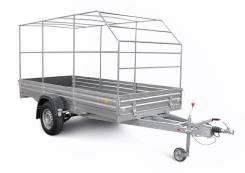 Для перевозки крупногабаритных грузов и мототехн МЗСА 817716 с тентом