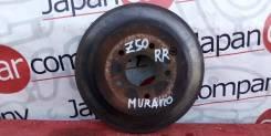 Диск тормозной задний Nissan Murano (Z50) 2004-2008