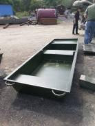 Лодка разборная для рыбалки алюминиевая