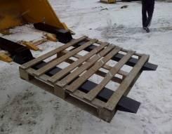 Вилы на ковш экскаватор-погрузчика от производителя