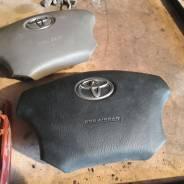 Подушка безопасности водителя. Toyota Land Cruiser Prado, GRJ120, GRJ120W, GRJ121W, GRJ125W, KDJ120, KDJ120W, KDJ121W, KDJ125W, LJ120, RZJ120W, RZJ125...