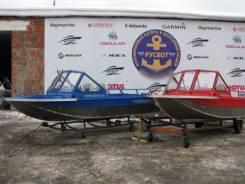 Алюминиевый Катер Rusboat 43 JET PRO NEW, новый