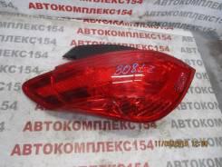 Задний фонарь. Peugeot 308