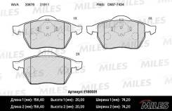 Колодки тормозные (смесь Semi-Metallic) AUDI A3 9701 R15/Volkswagen G4/Skoda Octavia 98 передние (без датчика) (TRW GDB1275) E100031 miles E100031 в наличии