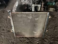 Радиатор охлаждения двигателя. Toyota Land Cruiser Prado, GRJ120, GRJ120W, GRJ121W, GRJ125W 1GRFE