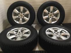 """Комплект колёс Prado, Lexus. Шины Nokian Hakkapeliitta 8 с износом 2%. 7.5x17"""" 6x139.70 ET25 ЦО 106,2мм."""