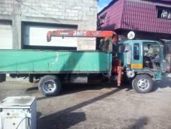 Hino Ranger. Продается грузовой бортовой с манипулятором, 7 400куб. см., 5 000кг., 4x2