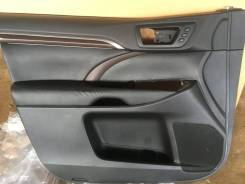 Обшивка двери Toyota Highlander c 2016
