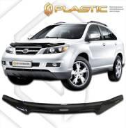 Дефлектор капота Classic черный BYD S6 2011–н.в. (изготовление) Plastics 933