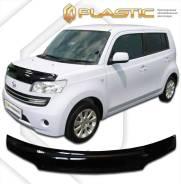 Дефлектор капота Classic черный Daihatsu Coo 2005–н. в. M401S, M402S, M411S (изготовление) Plastics 576