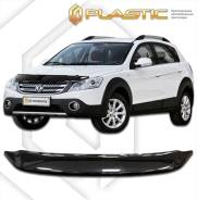 Дефлектор капота Classic черный Dongfeng H30 Cross 2014–н. в. (изготовление) Plastics 1108