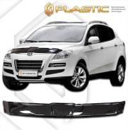 Дефлектор капота Luxgen 7 SUV 2013–н. в. [черный]