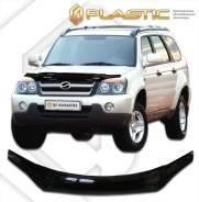 Дефлектор капота Classic черный ZX Auto Landmark 2005-н. в. (изготовление) Plastics 461