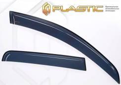 Ветровики дверей Classic полупрозрачный Geely Atlas 2018-н.в. (изготовление) Plastics 1425