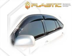 Ветровики дверей Classic полупрозрачный BYD S6 2011–н.в. (изготовление) Plastics 933