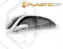 Ветровики дверей Classic полупрозрачный Changan Raeton 2014–н. в. (изготовление) Plastics 1107