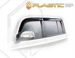 Ветровики дверей Classic полупрозрачный Daihatsu Coo 2005–н. в. M401S, M402S, M411S (изготовление) Plastics 576