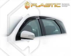 Ветровики дверей Classic полупрозрачный Dongfeng H30 Cross 2014–н. в. (изготовление) Plastics 1108