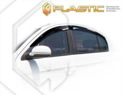 Ветровики дверей Classic полупрозрачный FAW Oley 2014–н. в. (изготовление) Plastics 1191