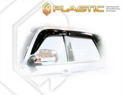 Ветровики дверей Classic полупрозрачный ZX Auto Landmark 2005-н. в. (изготовление) Plastics 461