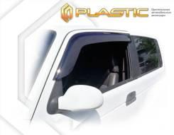 Ветровики дверей Classic полупрозрачный ТагАЗ Тагер 3 Door 2008-2014 (изготовление) Plastics 1341