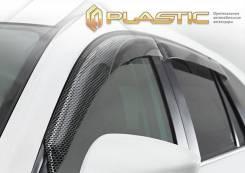 """Ветровики дверей Серия """"Art"""" черная ВАЗ Lada Niva Travel 2020-н. в. (изготовление) Plastics 1590"""