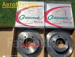 Диск тормозной перфорированный вентилируемы G-brake Комплект ДВА Перер