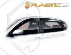 Hyundai Solaris hb 2010-2017 . Дефлекторы окон Ветровики дверей