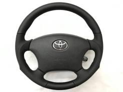 """Анатомический кожаный обод руля """"Silk Blaze"""" для Toyota"""