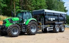 Metal-Fach. Герметичные тракторные прицепы