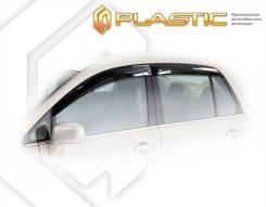 Nissan Tiida Latio седан 2004-2012. Дефлекторы окон Ветровики дверей