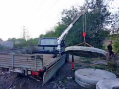 Кран манипулятор (КМУ) 1 тонна на Газель 3302, УАЗ 3303, Профи