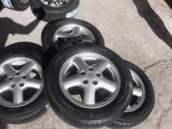 """(Комплект 3412) Диски 16"""" Toyota JZX 5-114,3+Toyo Tranpath,215/60R16. 6.5/7.5x16"""" 5x114.30 ET50/55 ЦО 60,1мм."""
