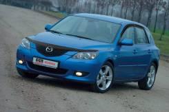 Дефлектор капота EGR черный Mazda 3 / Axela 2003-2009 год.