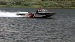 """Алюминиевый водометный катер """"Росомаха 730"""" Ка-хем"""