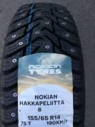 Nokian Hakkapeliitta 8. Зимние, шипованные, 2019 год, новые