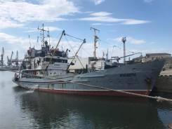 Рыбопромысловое судно ПТР 50 с полным траловым вооруженвием