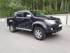 Фендера (расширители арок) Toyota Hilux Pick Up 2005-2014
