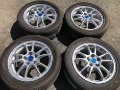 """R16 диски Bridgestone + 205/55R16 новые (ЛЕТО) L-KO17. 6.5x16"""" 5x114.30 ET39 ЦО 60,1мм."""