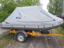 Моторная лодка пвх смотором и прицепом.