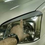 Накладка на фару. Dongfeng S30 Chery: indiS, Tiggo, Bonus, M11, Tiggo 5, Arrizo 7 Mercedes-Benz: GLA-Class, E-Class, C-Class, B-Class, S-Class Volkswa...