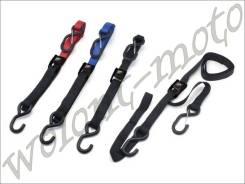 Стяжки для крепления мотоцикла (пара) DRC DRC T2 Cambuckle Tie Down Красный D36-05-430