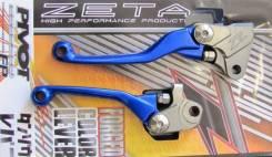 Рычаг сцепления+Тормоз Zeta ZE44-3112 Синий ZETA Pivot Lever Set FP YZ250FX 15-
