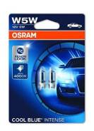 Лампа W5W 5W Halogen Cool Blue Intense 12V 2шт 2825HCBI-02B 4008321650870 osram 2825HCBI-02B в наличии