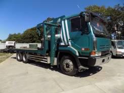 Nissan Diesel. 1993 г эвакуатор с крановой установкой Tadano 503, 17 990куб. см., 10 000кг., 6x4