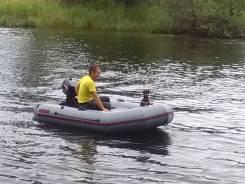 Продам лодку с мототором