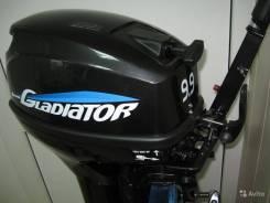 Новый лодочный мотор gladiator G9.9FHS 2х такт